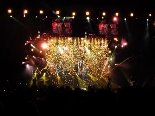 Luke Bryan performs at Gillette Stadium