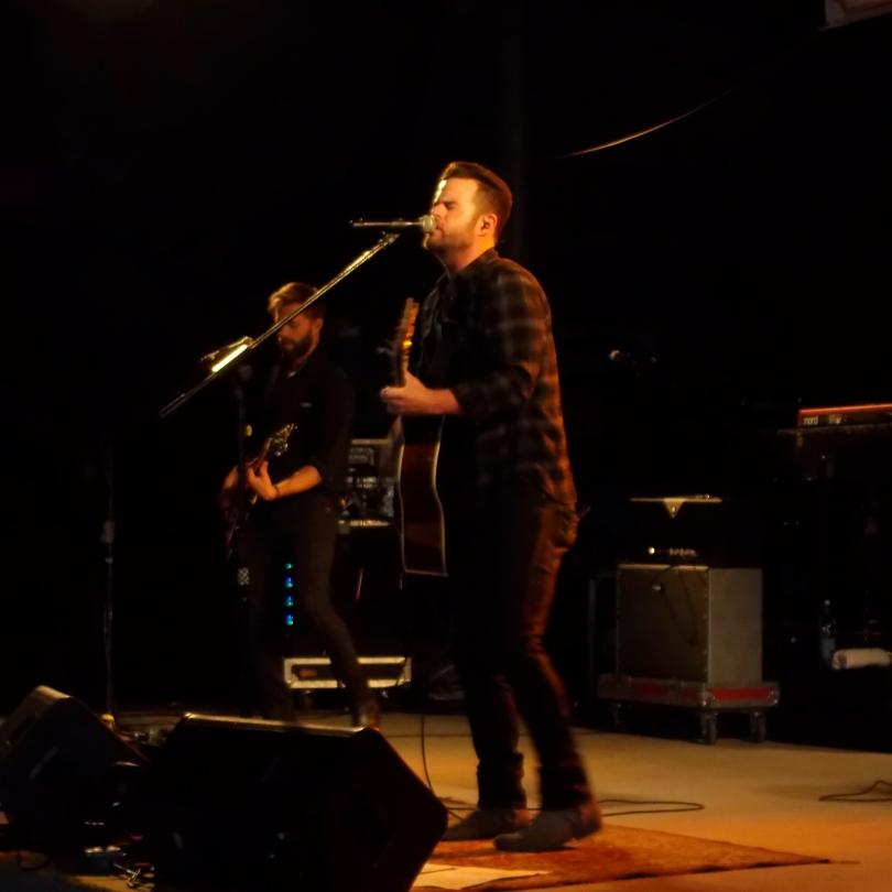 David Nail performs