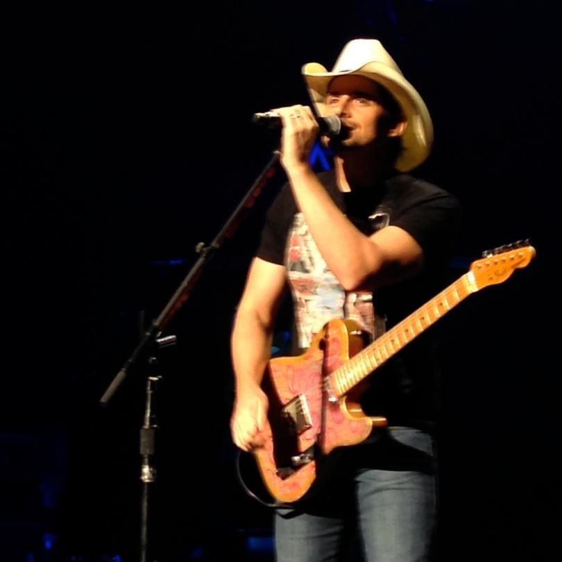 Brad Paisley performs