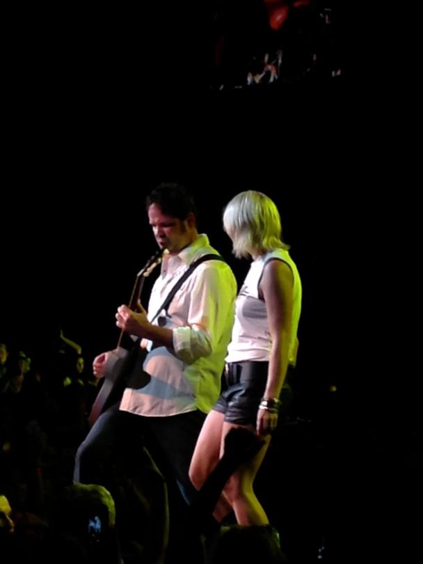 Miranda Lambert performs at the Xfinity Center.