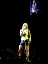 Miranda Lambert performs at the Xfinity Center.