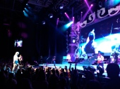 Miranda Lambert's stage at the Xfinity Center.
