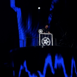 DeeJay Silver performs