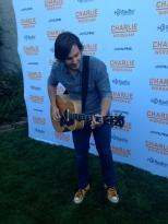 Charlie Worsham backstage