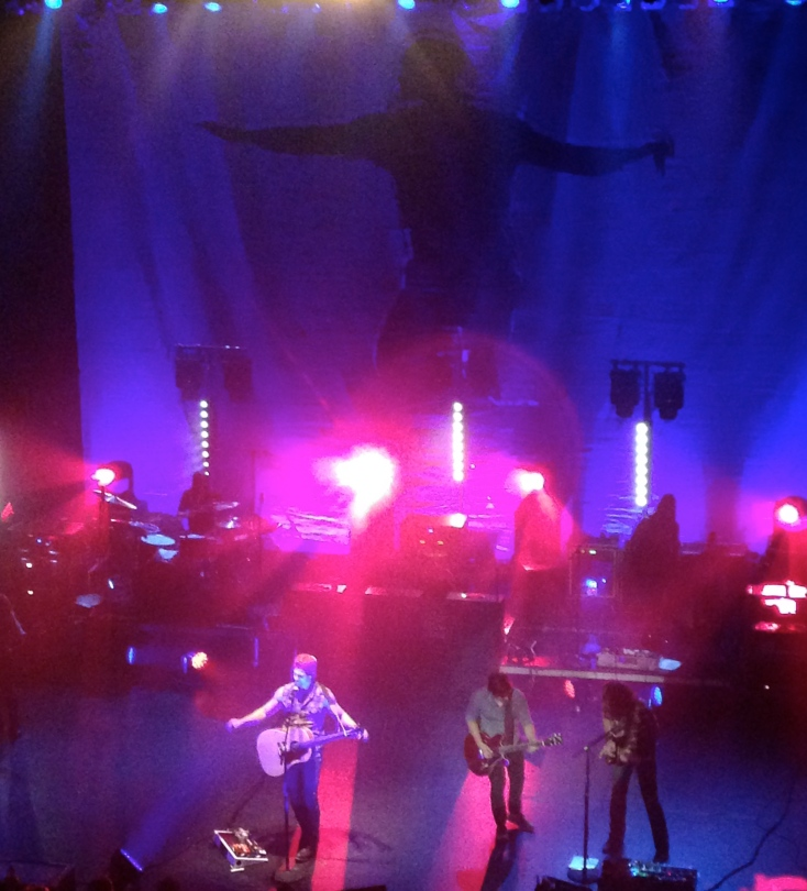 Kip Moore performs with Charlie Worsham at the Orpheum Theatre in Boston