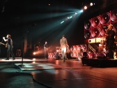 Scotty McCreery and his band perform at the Oakdale Theatre
