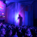 Scotty McCreery was a shadow on the wall at the Oakdale Theatre.