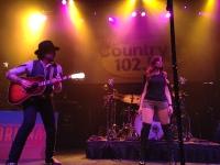 Tom Gossin & Rachel Reinert perform at House of Blues Boston