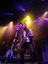 Mike Gossin of Gloriana performs at House of Blues Boston