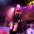 Rachel Reinert of Gloriana sings at House of Blues Boston