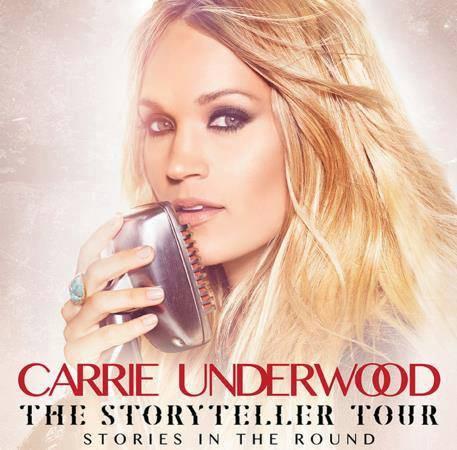 Carrie Storyteller Tour Poster