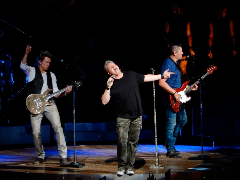 Rascal Flatts Xfinity Theater 2015