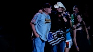 Toby Keith with Curt Schilling Xfinity Center 2015