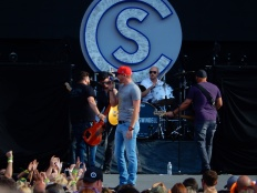 Cole Swindell Gillette Stadium 2015