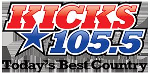 Kicks 105.5 Logo