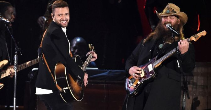 Chris Stapleton & Justin Timberlake Bring The House Down