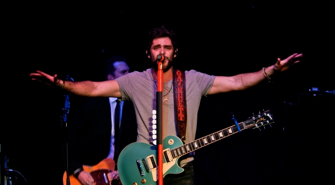 Thomas Rhett Makes Country Music Fun in New Hampshire