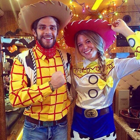 Thomas Rhett Halloween