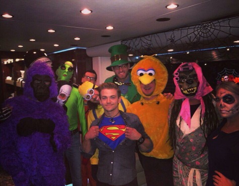 Hunter Hayes Halloween